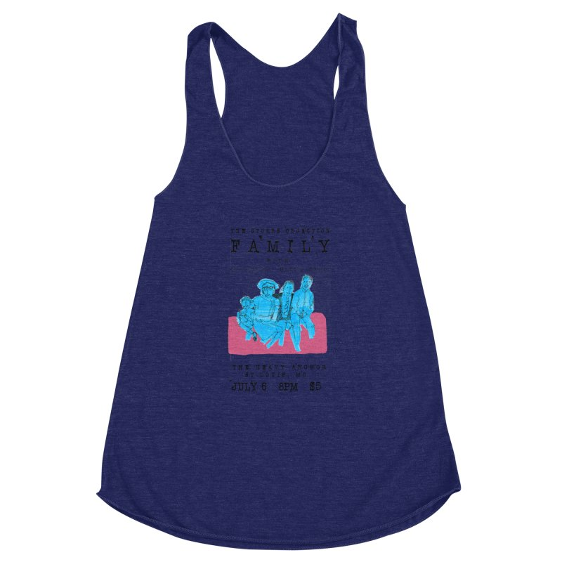 The Storrs Objection: Family Women's Racerback Triblend Tank by PEP's Artist Shop