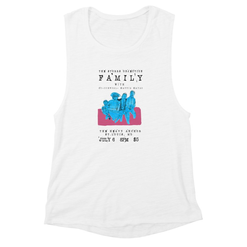 The Storrs Objection: Family Women's Muscle Tank by PEP's Artist Shop