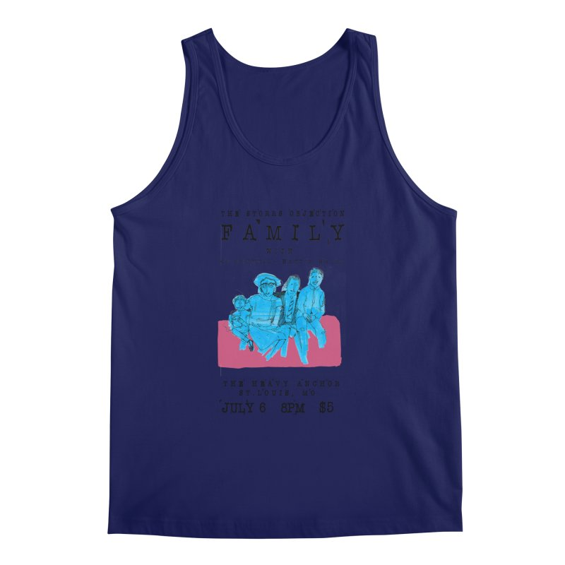 The Storrs Objection: Family Men's Tank by PEP's Artist Shop