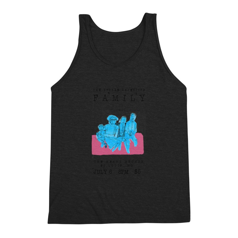 The Storrs Objection: Family Men's Triblend Tank by PEP's Artist Shop