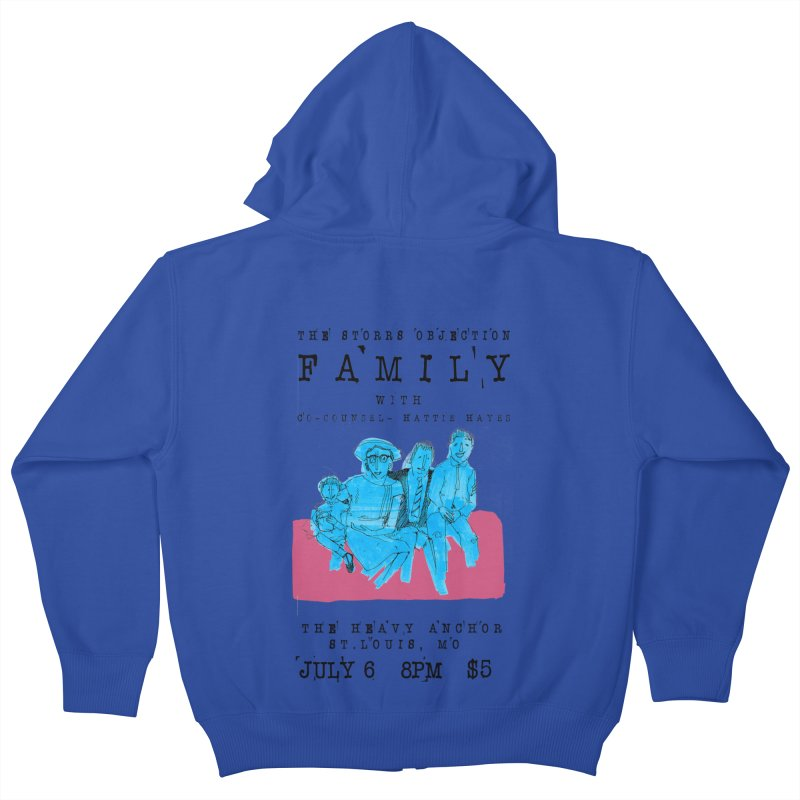 The Storrs Objection: Family Kids Zip-Up Hoody by PEP's Artist Shop