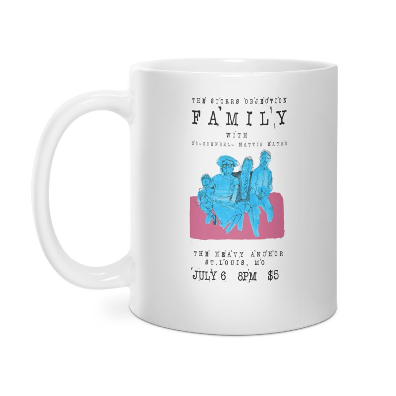 The Storrs Objection: Family Accessories Mug by PEP's Artist Shop
