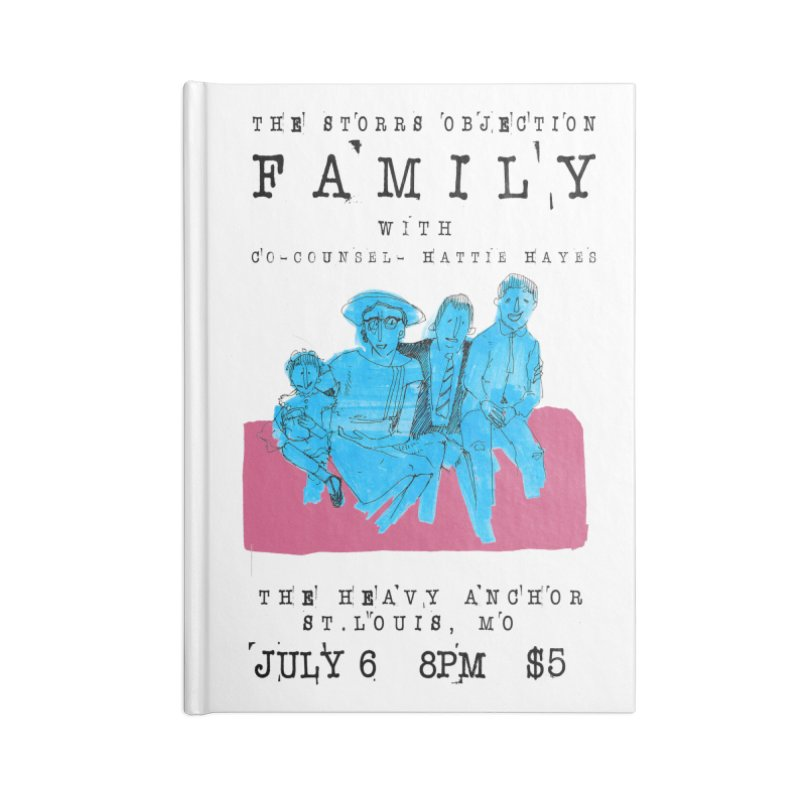 The Storrs Objection: Family Accessories Notebook by PEP's Artist Shop