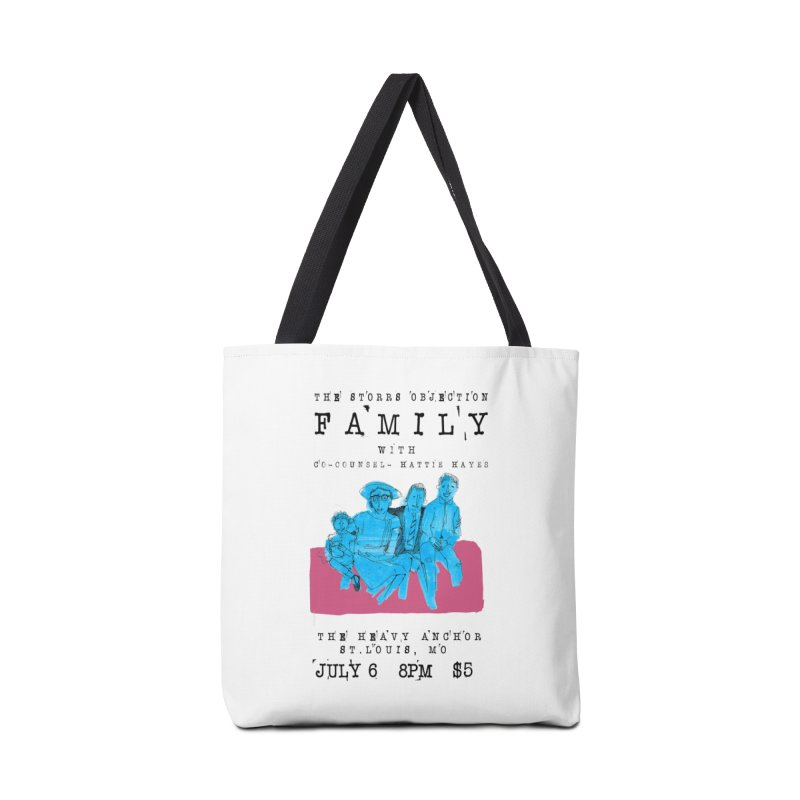 The Storrs Objection: Family Accessories Bag by PEP's Artist Shop