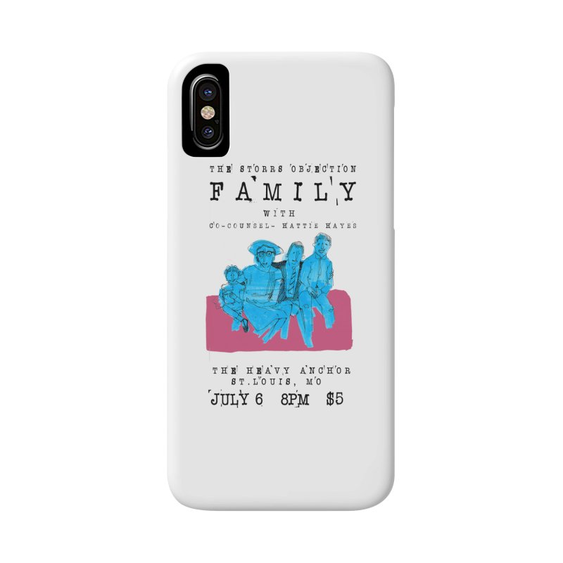 The Storrs Objection: Family Accessories Phone Case by PEP's Artist Shop