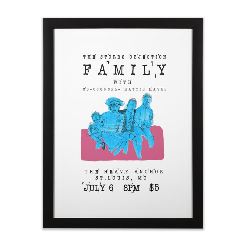 The Storrs Objection: Family Home Framed Fine Art Print by PEP's Artist Shop