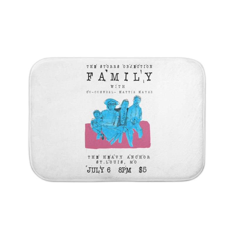 The Storrs Objection: Family Home Bath Mat by PEP's Artist Shop