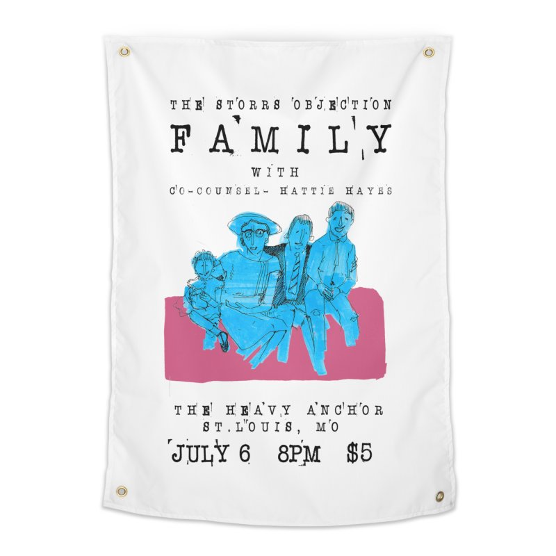 The Storrs Objection: Family Home Tapestry by PEP's Artist Shop