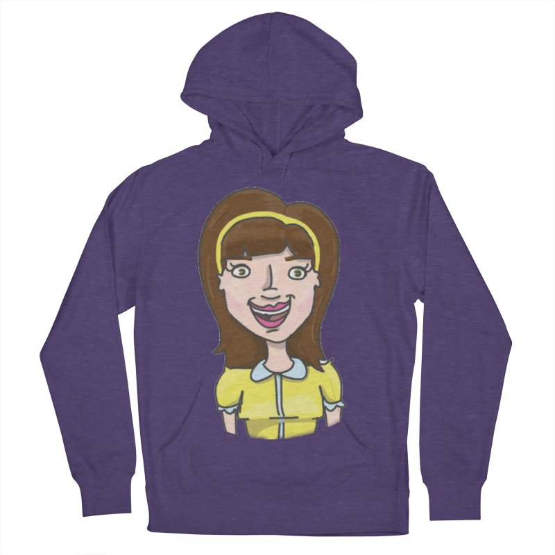 Hattie Hayes Women's French Terry Pullover Hoody by PEP's Artist Shop