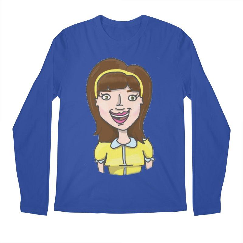 Hattie Hayes Men's Regular Longsleeve T-Shirt by PEP's Artist Shop