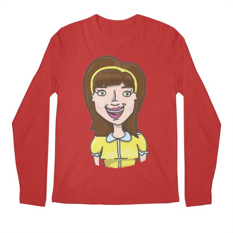 Hattie Hayes Men's Longsleeve T-Shirt by PEP's Artist Shop