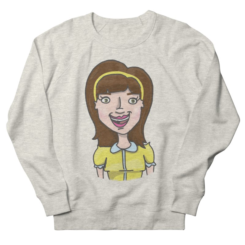 Hattie Hayes Men's French Terry Sweatshirt by PEP's Artist Shop