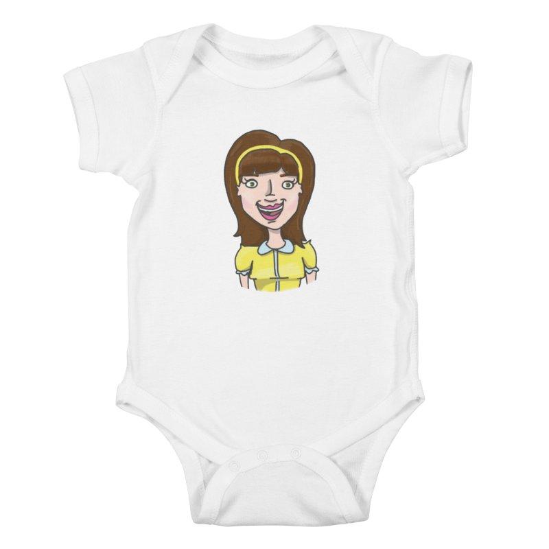 Hattie Hayes Kids Baby Bodysuit by PEP's Artist Shop
