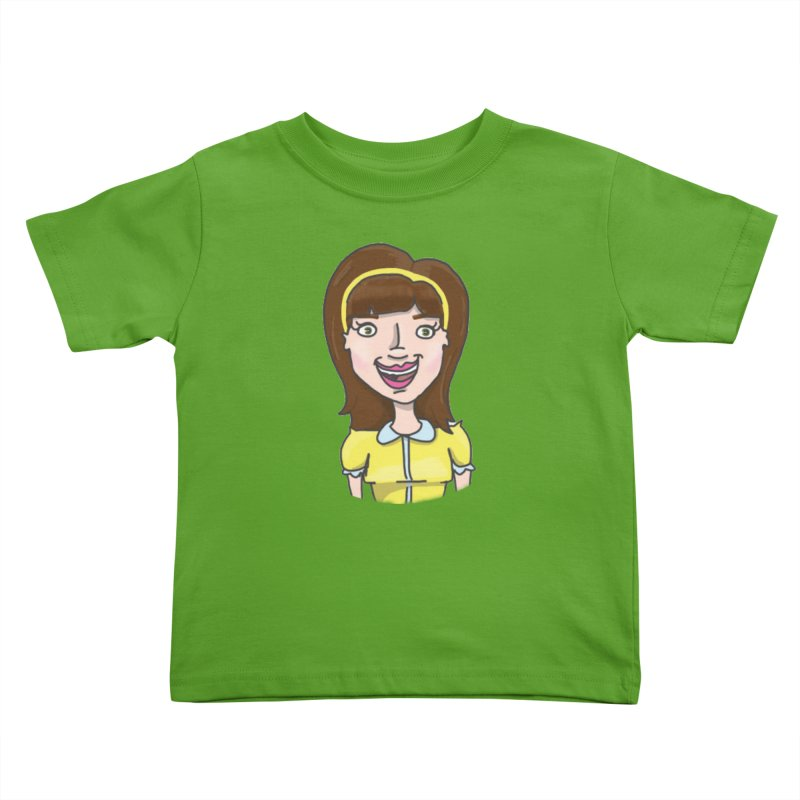 Hattie Hayes Kids Toddler T-Shirt by PEP's Artist Shop