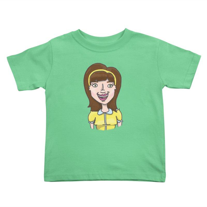 Hattie Hayes Kids Toddler T-Shirt by PEP's Artist Shop
