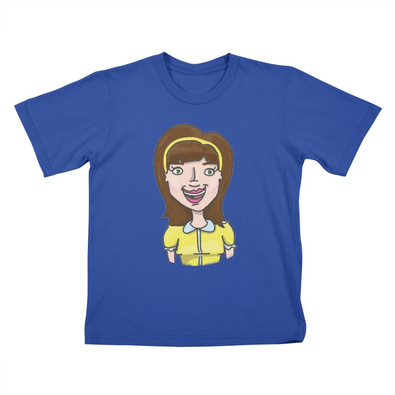 Hattie Hayes Kids T-Shirt by PEP's Artist Shop