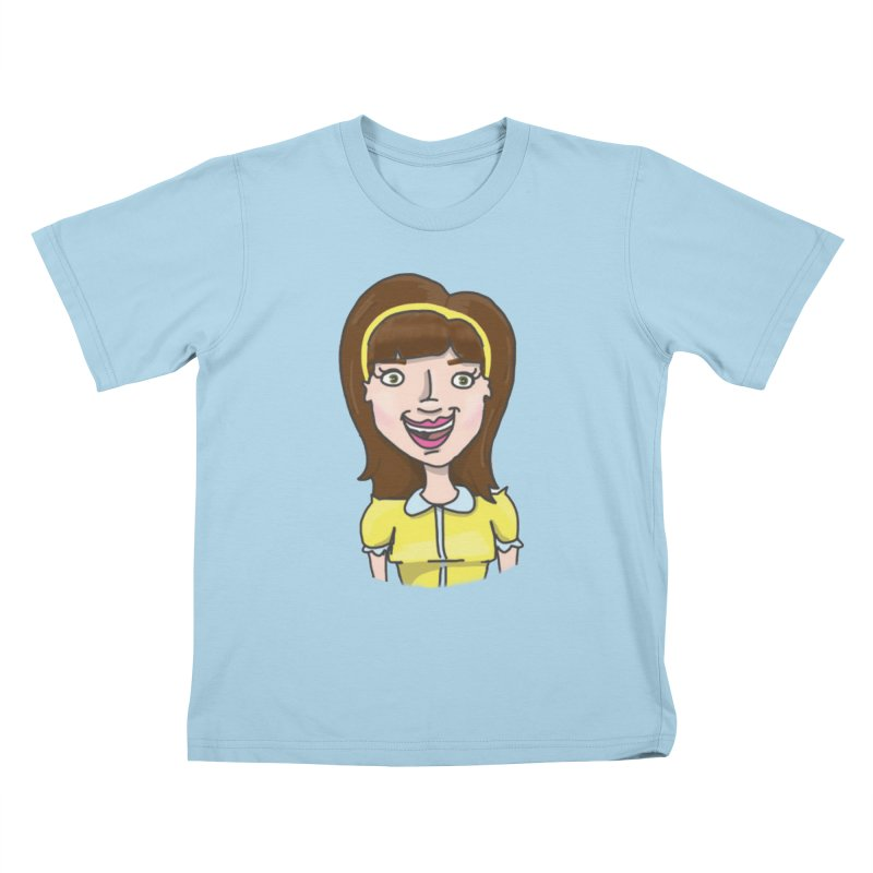 Hattie Hayes Kids T-Shirt by PEP's Artist Shop