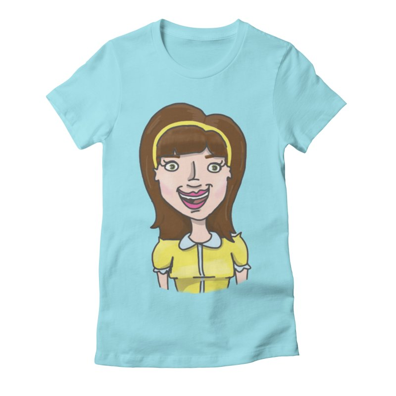 Hattie Hayes Women's Fitted T-Shirt by PEP's Artist Shop