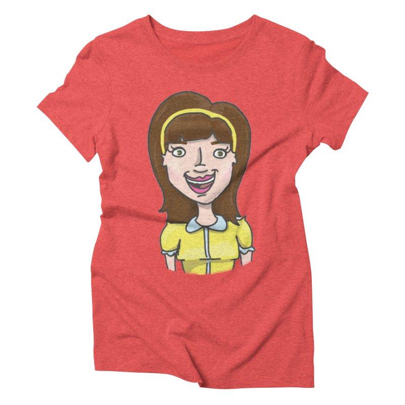 Hattie Hayes Women's Triblend T-Shirt by PEP's Artist Shop