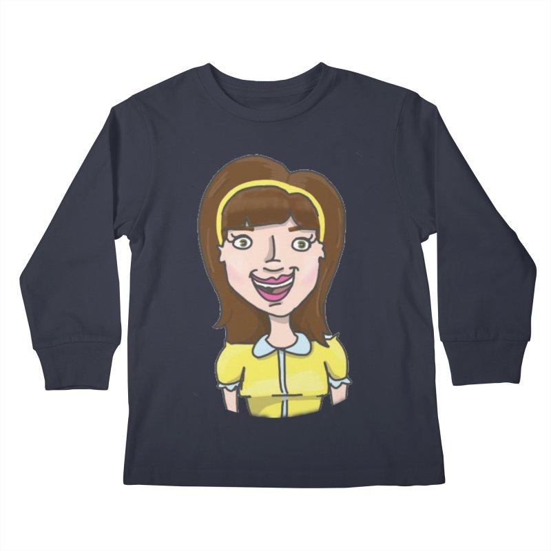 Hattie Hayes Kids Longsleeve T-Shirt by PEP's Artist Shop