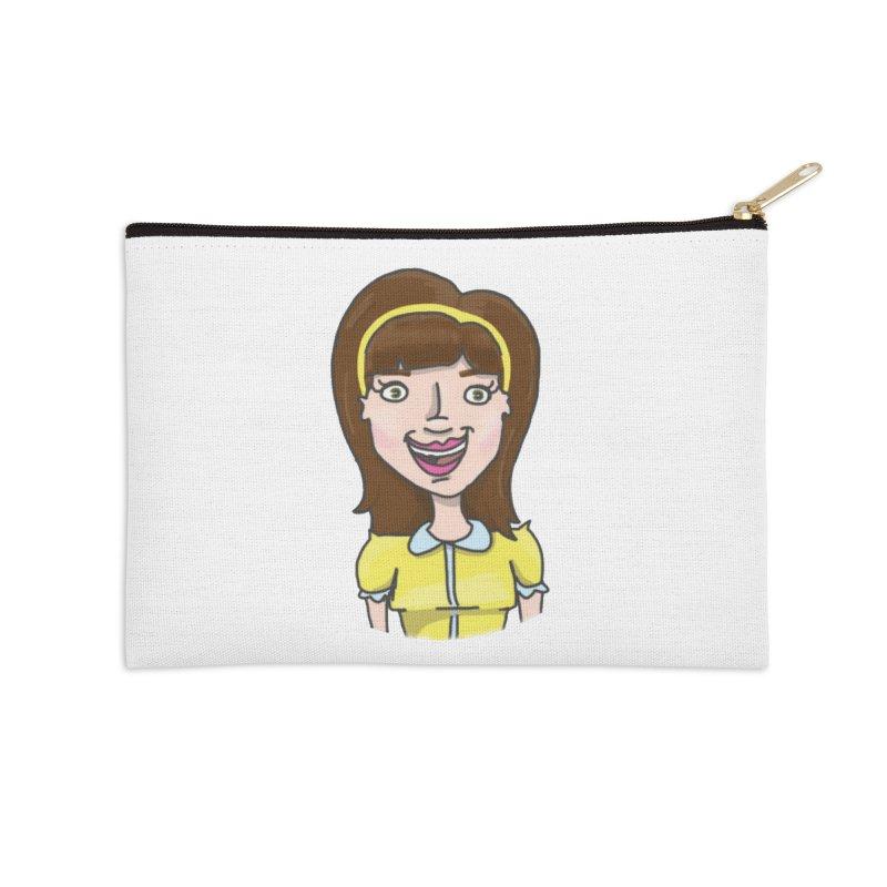 Hattie Hayes Accessories Zip Pouch by PEP's Artist Shop