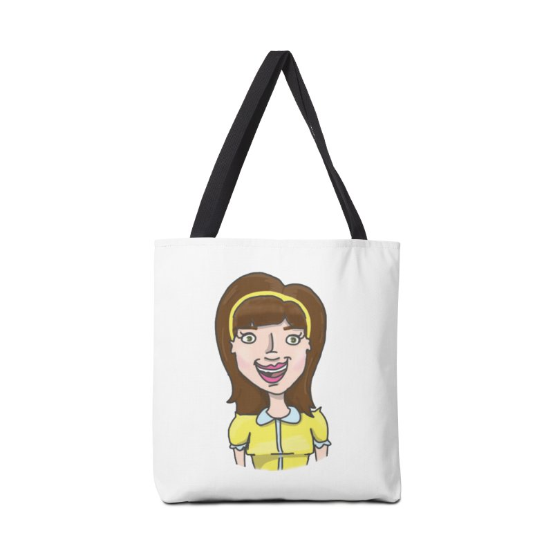 Hattie Hayes Accessories Tote Bag Bag by PEP's Artist Shop
