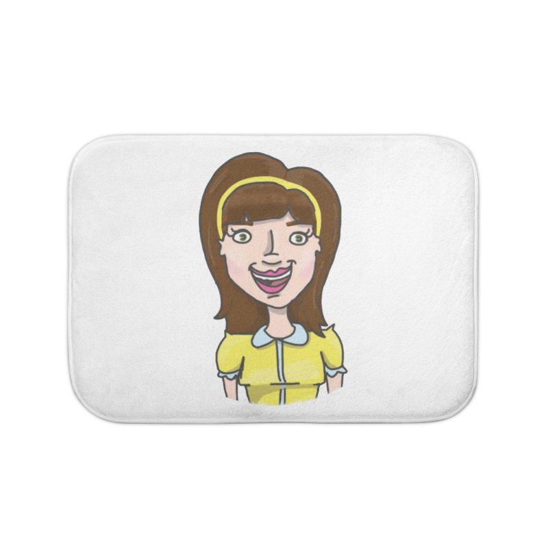 Hattie Hayes Home Bath Mat by PEP's Artist Shop