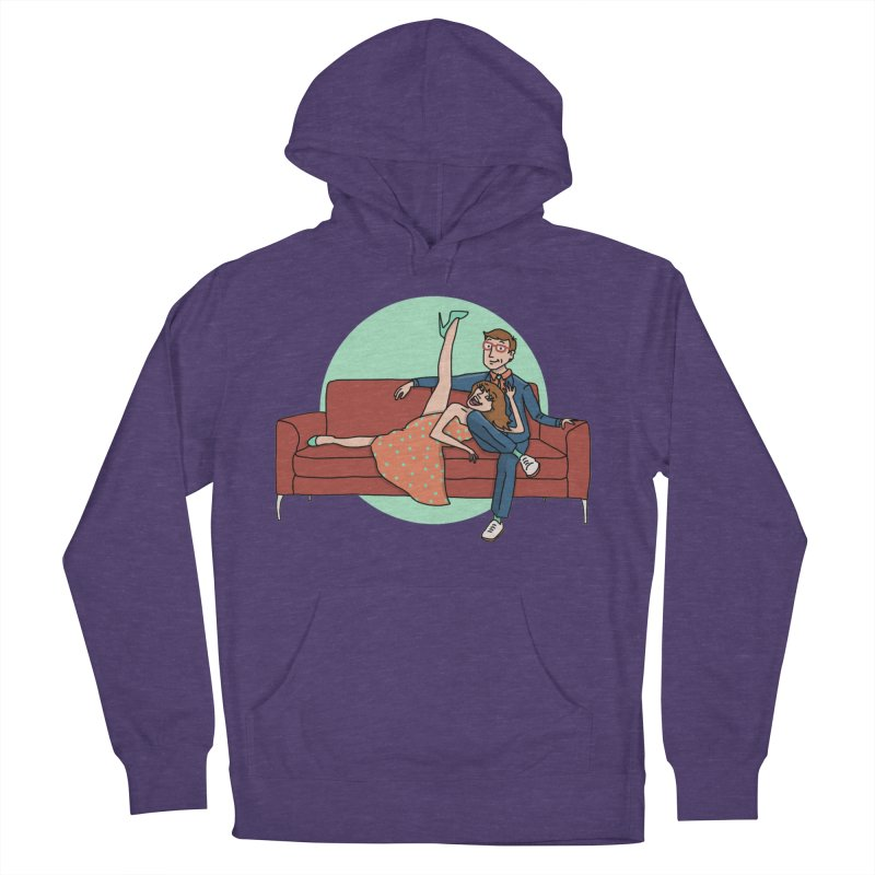 Hattie and Matt Men's French Terry Pullover Hoody by PEP's Artist Shop