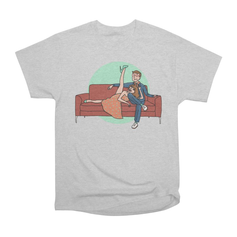 Hattie and Matt Men's Heavyweight T-Shirt by PEP's Artist Shop