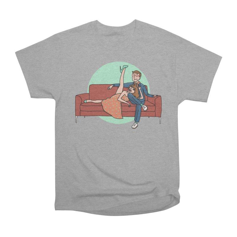 Hattie and Matt Women's Heavyweight Unisex T-Shirt by PEP's Artist Shop
