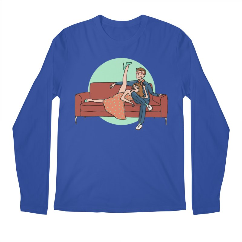 Hattie and Matt Men's Longsleeve T-Shirt by PEP's Artist Shop