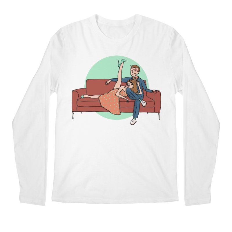 Hattie and Matt Men's Regular Longsleeve T-Shirt by PEP's Artist Shop
