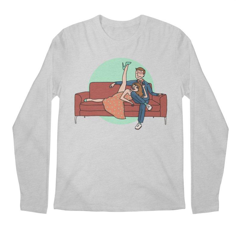 Hattie and Matt Men's Regular Longsleeve T-Shirt by PEP's Artist Shop