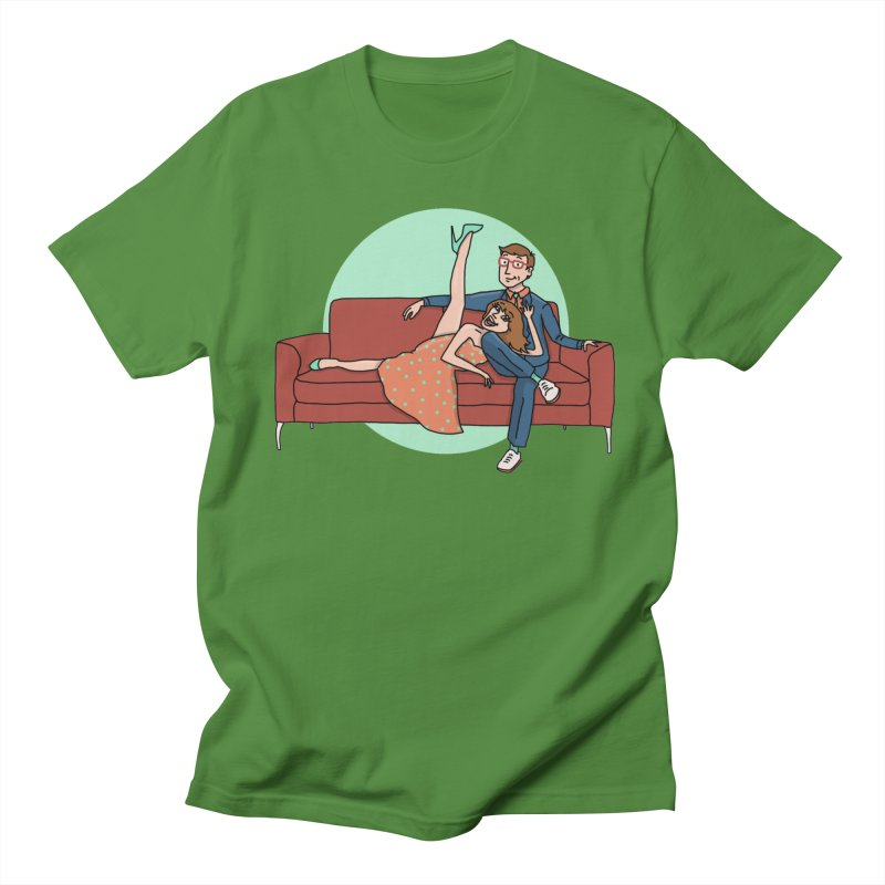 Hattie and Matt Men's T-Shirt by PEP's Artist Shop