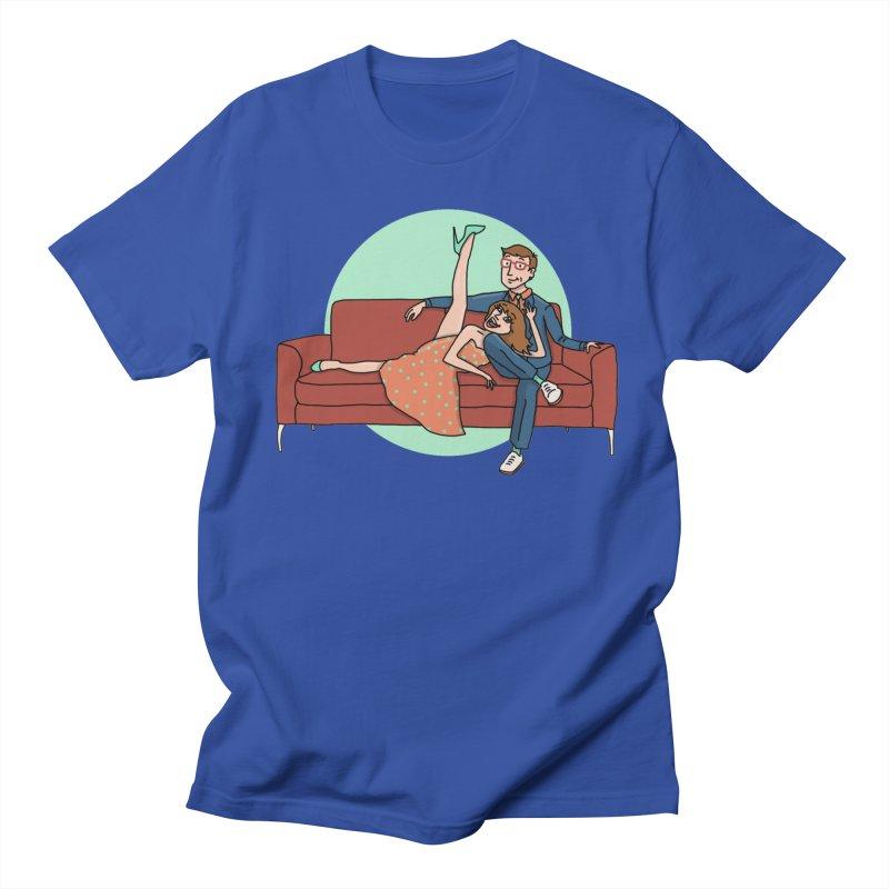 Hattie and Matt Men's Regular T-Shirt by PEP's Artist Shop