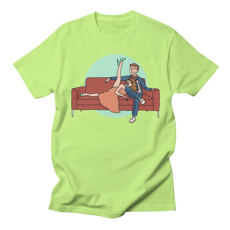 Hattie and Matt Men's T-Shirt by PEP's Artist Shop