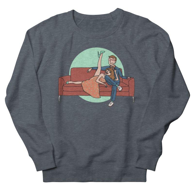 Hattie and Matt Women's French Terry Sweatshirt by PEP's Artist Shop