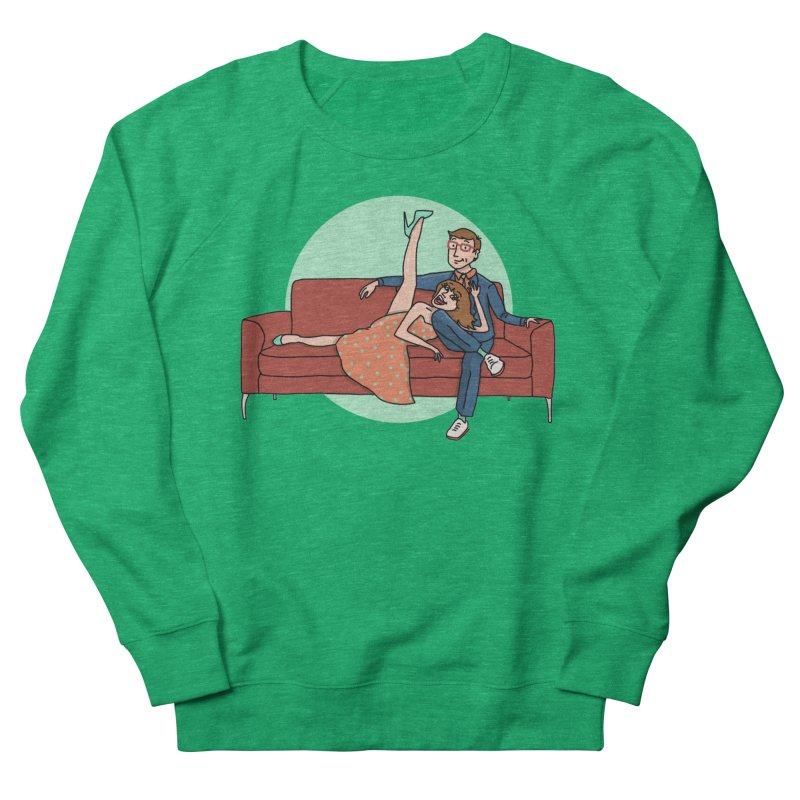 Hattie and Matt Men's French Terry Sweatshirt by PEP's Artist Shop