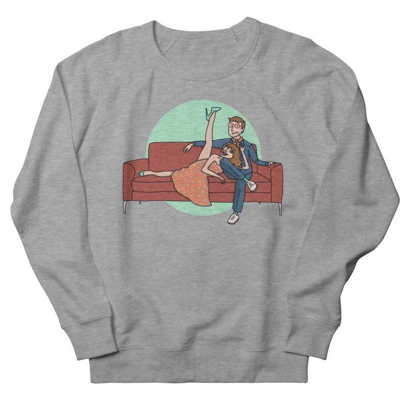 Hattie and Matt Men's Sweatshirt by PEP's Artist Shop