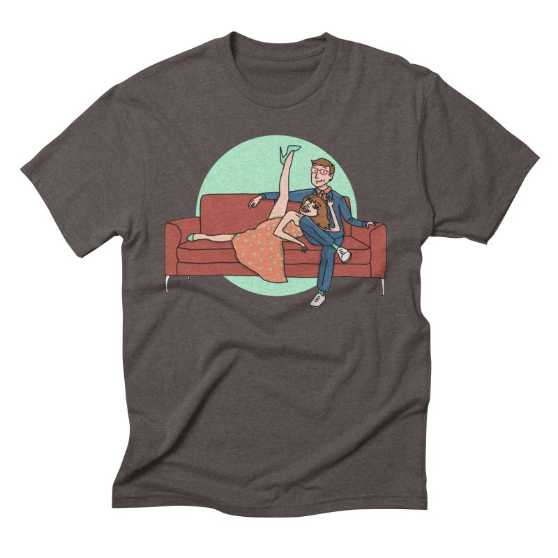 Hattie and Matt Men's Triblend T-Shirt by PEP's Artist Shop