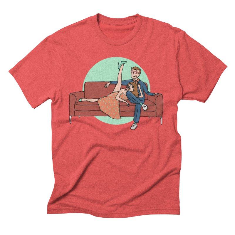Hattie and Matt Men's Triblend T-Shirt by PEP's Artist Shop