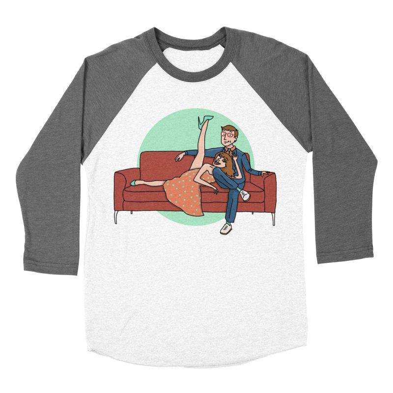 Hattie and Matt Women's Baseball Triblend T-Shirt by PEP's Artist Shop