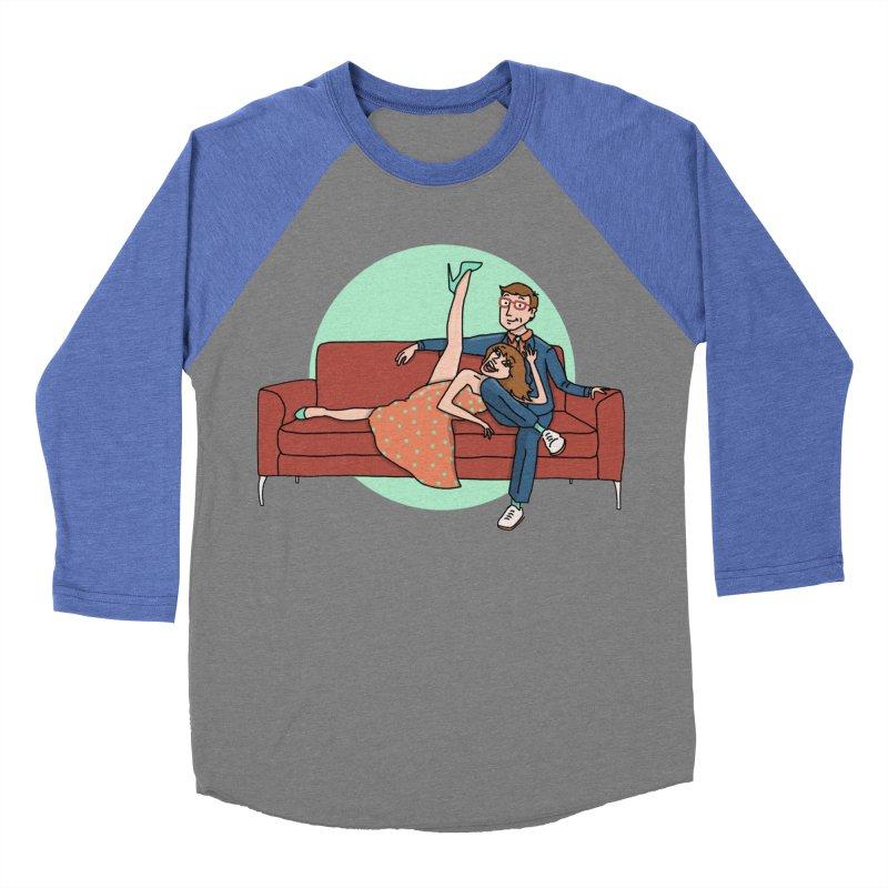Hattie and Matt Women's Baseball Triblend Longsleeve T-Shirt by PEP's Artist Shop