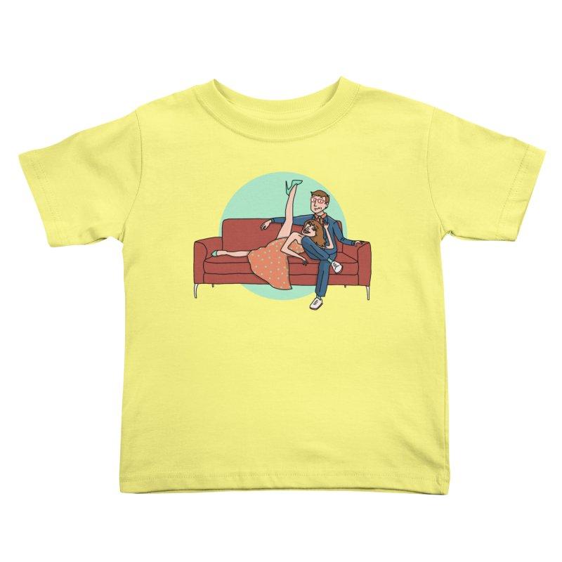 Hattie and Matt Kids Toddler T-Shirt by PEP's Artist Shop