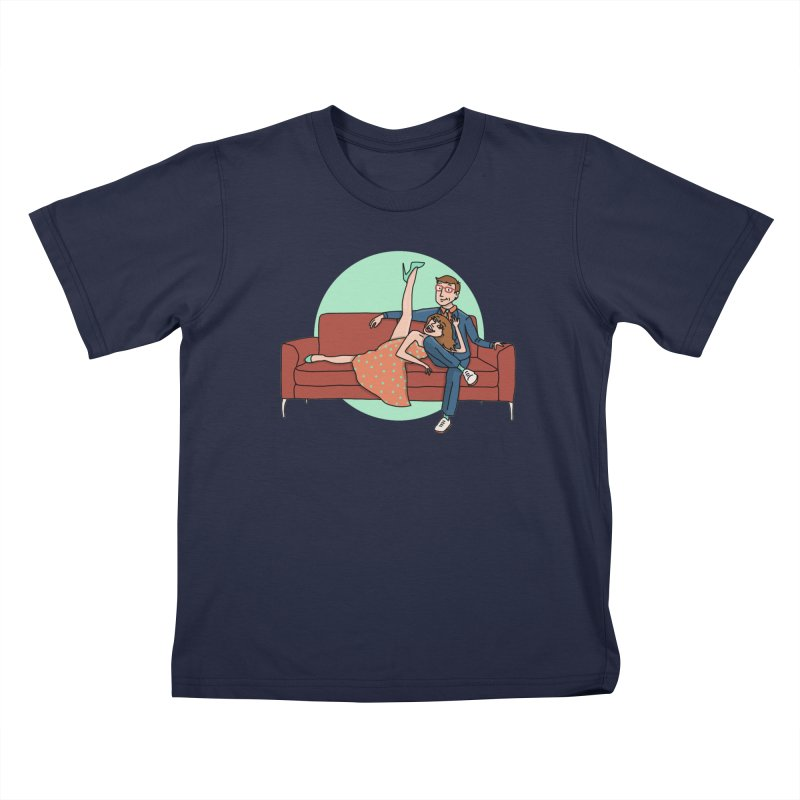 Hattie and Matt Kids T-shirt by PEP's Artist Shop