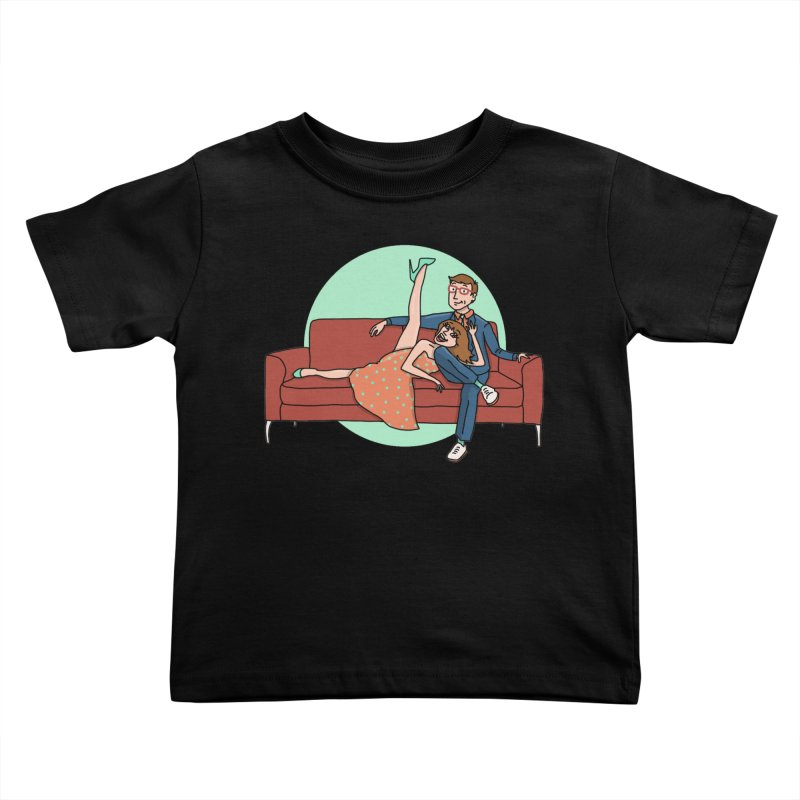 Hattie and Matt Kids Toddler T-Shirt by PEP's Artist Shop