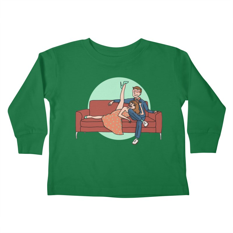 Hattie and Matt Kids Toddler Longsleeve T-Shirt by PEP's Artist Shop