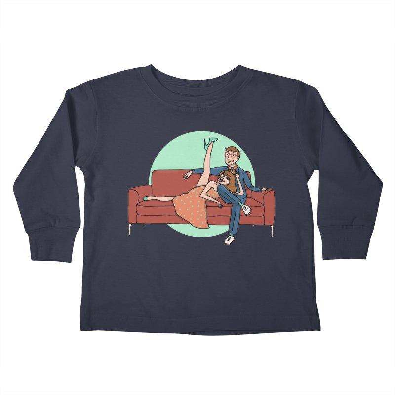 Hattie and Matt Kids Toddler Longsleeve T-Shirt by PEP's Artist Shop