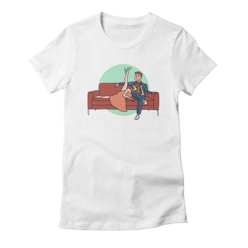 Hattie and Matt Women's Fitted T-Shirt by PEP's Artist Shop