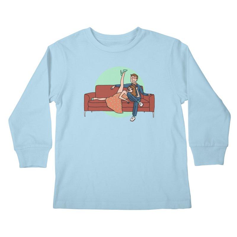 Hattie and Matt Kids Longsleeve T-Shirt by PEP's Artist Shop